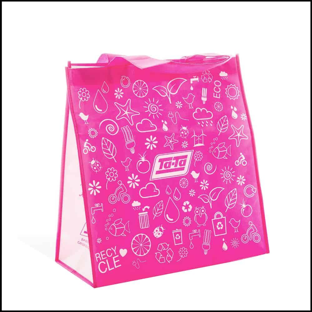 un sac réutilisable environnement durable