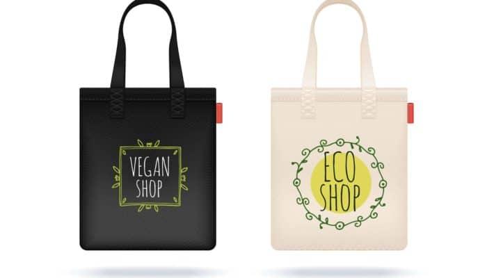 deux sacs écologiques
