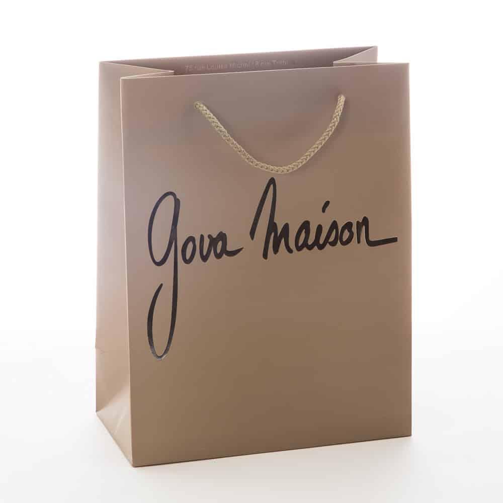 Un sac papier luxe publicitaire personnalisé