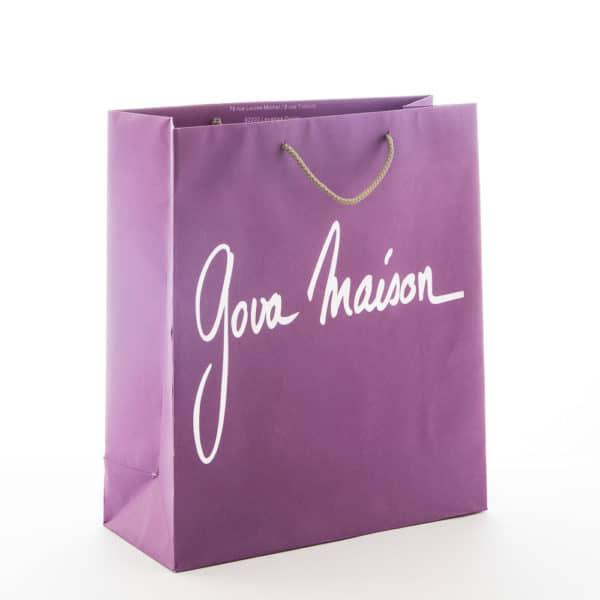 un sac cadeau en kraft personnalisé