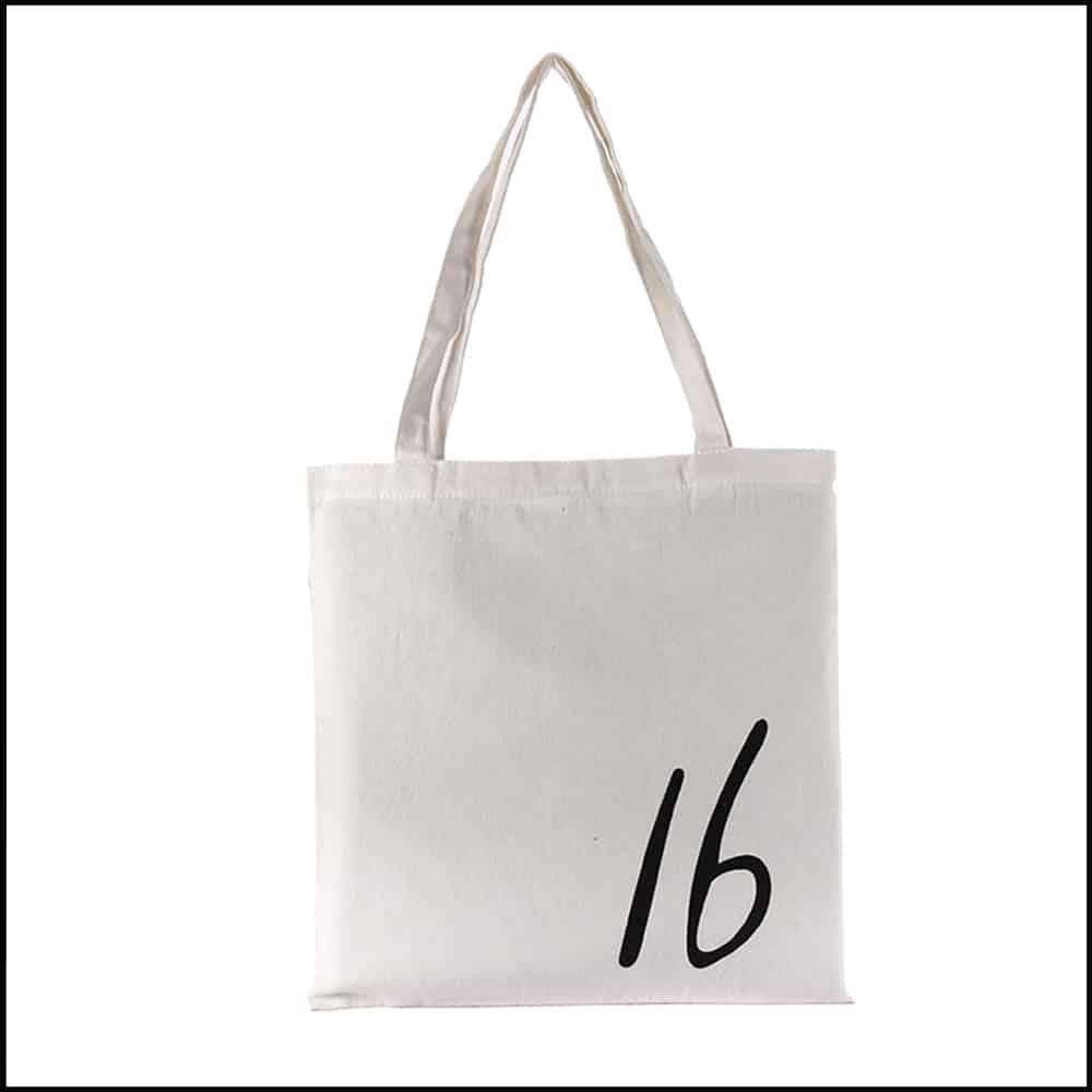 un sac en coton personnalisable