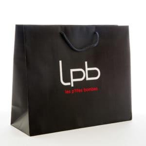 un sac en papier personnalisé
