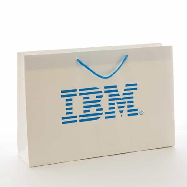 un sac publicitaire de luxe pour IBM