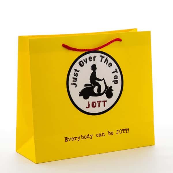 un sac papier de luxe personnalisable pour JOTT