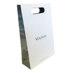 un sac publicitaire pour du parfum