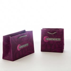 un sac papier de luxe pour bijouterie