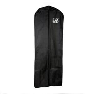 une housse pour robe personnalisable noir