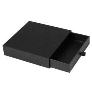 une boîte noir à tiroir personnalisable